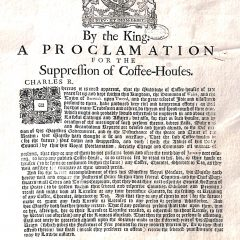Coffee – The Revolutionary's Drink of Choice ?