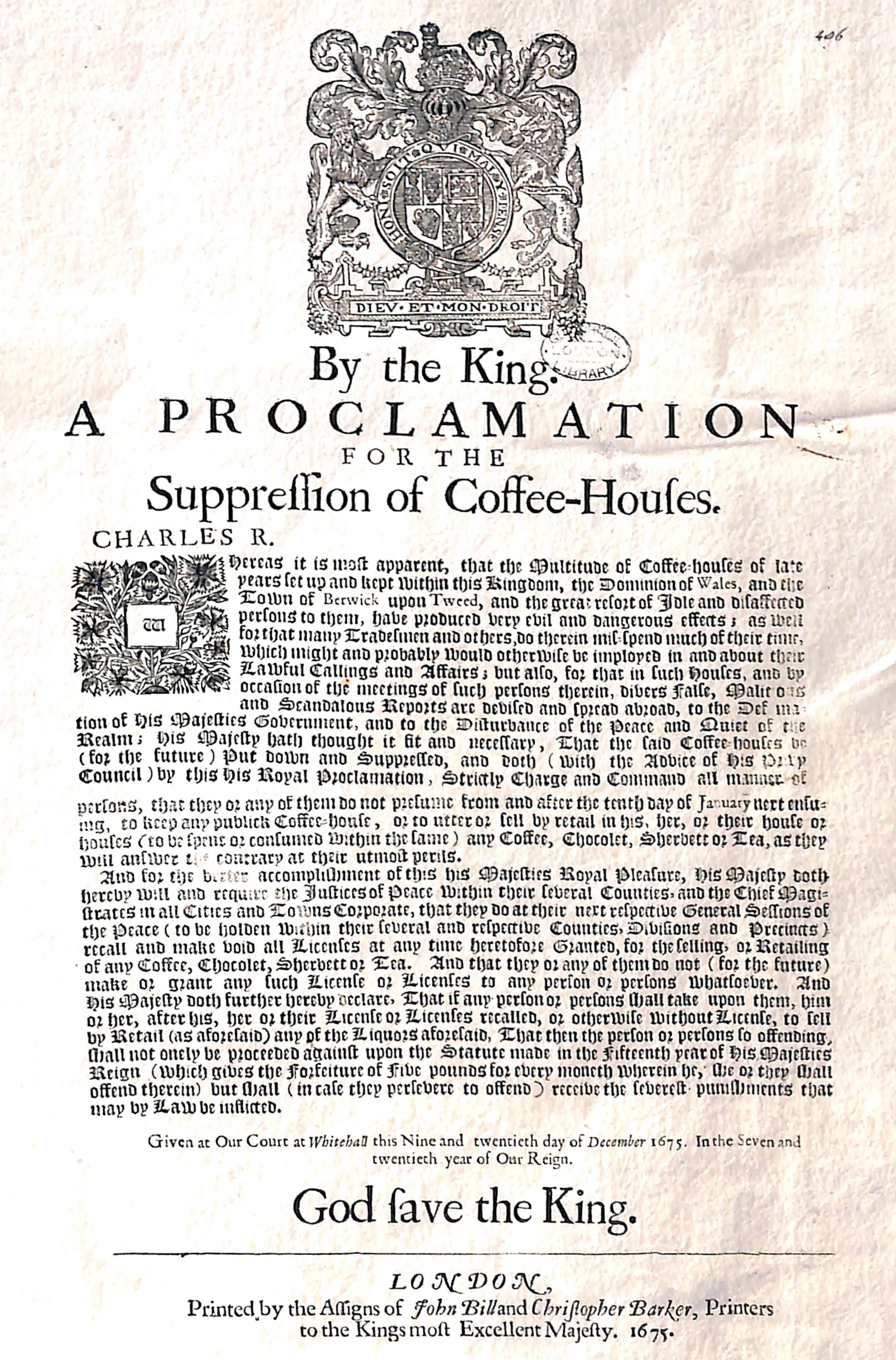 Coffee – The Revolutionary's Drink of Choice