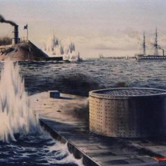 A Naval Historical First – The Battle of the Ironclads