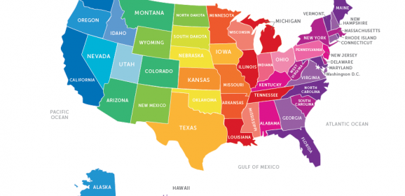 How the US States Got Their Names