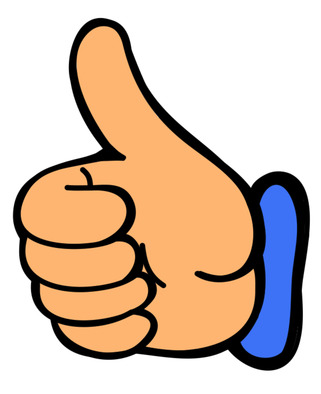 picture of a thumbs up