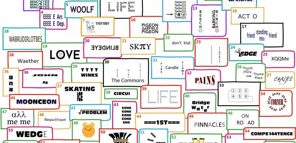 Party Games – Dingbat Mega Quiz – 64 Brain Fizzlers
