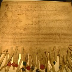 The Declaration of Arbroath (Scotland declares independence)