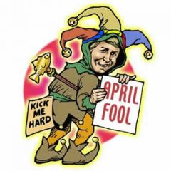What is the origin of April Fools Day ?
