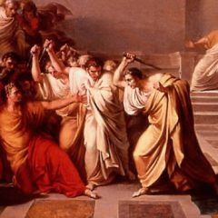 Beware the Ides of March : The Great Caesar is Assasinated